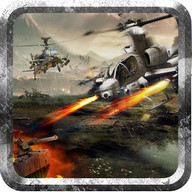 Helicopter Tank Gunner Battle