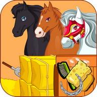 صالون تزيين الأحصنة