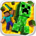 Mine Creeper Run - An endless runner with the famous Creeper from Minecraft