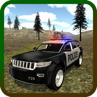 Mountain SUV Police Car