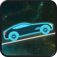 Neon Car Racing - Hill Climb