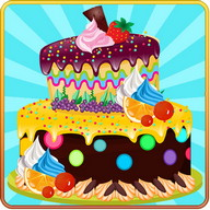 Tahun Baru Hiasan Kek