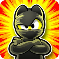 Ninja Hero Cats - The ninja cats need your help to kill the fish monsters