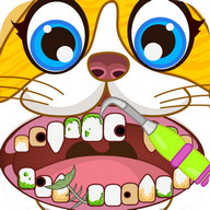 Animal Pets Dentist Office - Puppy Kitty Pet Game