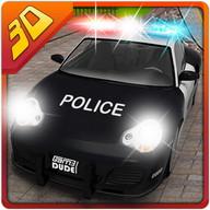 ville voiture police cascades