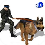 polis köpeği kovalamak