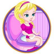 Potty Train Baby Eva