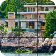 Puzzle - spiaggia villa