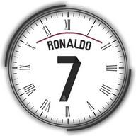 Cristiano Ronaldo Widget Clock