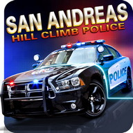 San Andreas Hill Climb Police - Chase criminals, catch them, and take them to jail!