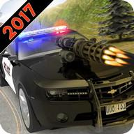 Полицейская машина побег война