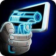 Simulator Neon Gun Weapon