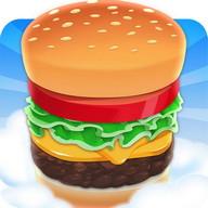 Sky Burger - Cook hamburgers as tall as buildings
