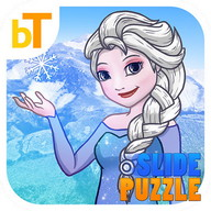 Slide Puzzle Frozen