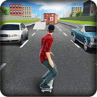 Street Skater 3D: 2 - Grab your skateboard and hit the streets...in 3D!