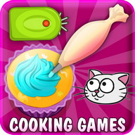 Kitty Cupcakes Cooking Games