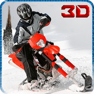 Winter Snowmobile 3D Simulator