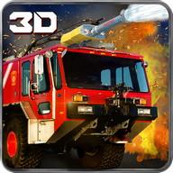 911 Rescue Fire Truck 3D Sim