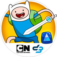 Adventure Time Puzzle Quest - Finn, Jake, and their friends are also having fun with Puzzle Quest