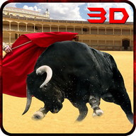 Angry Bull Attack Arena Sim 3D