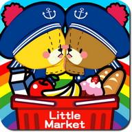 がんばれ!ルルロロ お買い物ごっこ〜子供向け無料知育アプリ〜 Bears Market