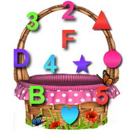 Bucket Learn - Digits, Figures, Letters