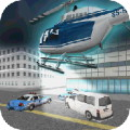 City Police Helicopter 3D
