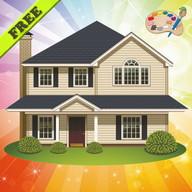 Coloring Book: House & Castle!