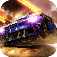 Death Race: Crash Burn - Gunfire and explosions on the highway