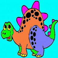 Disegni da colorare di dinosauri