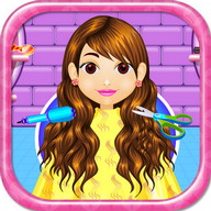 Hairdresser salon girls games