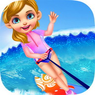 Summer Splash Beach Girl Salon
