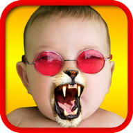 Face Fun - Photo Collage Maker - Retouch photos with fun graphic elements
