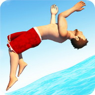 Flip Diving - Jump into the water as elegantly as you can