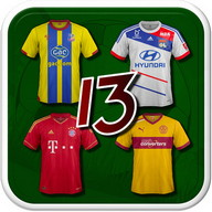 Football Kits Quiz '13