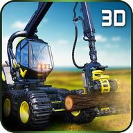 Hay Farm Truck Driver Logs 3D