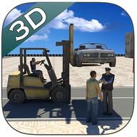 Heavy Car Lifter Simulator