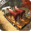 HILL CLIMBING ANIMAL TRANSPORT 3D