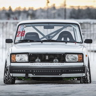 Drifting Lada - VAZ Car Drift Racing