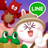 LINE Bubble 2 - Pop bubbles as you make your way through this mysterious world