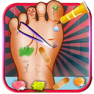 Baby Girl Foot Doctor Game