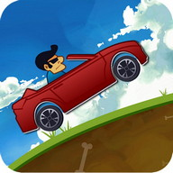 Mountain Climb Racer - Climb the mountains with your car but be careful not to flip it!