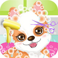 My Cute Puppy Spa Game HD