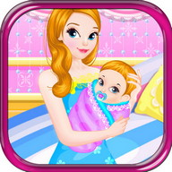 Newborn feeding baby games