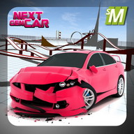 Next Gen Car Game Racing - Build yourself a ride with the latest style and come in first