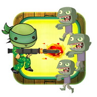 Turtles Rangers vs Zombies