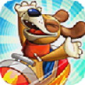Nutty Fluffies Rollercoaster - Sit at the helm of a roller coaster, if you dare