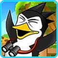 Penguin run away