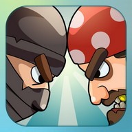 Korsana karşı ninja: 2 oyuncu