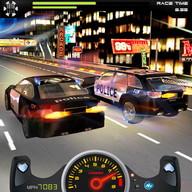 رجال شرطة اسحب السيارة